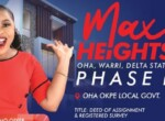 Featured-Plots Of Land For Sale In Max Heights Warri, Delta State